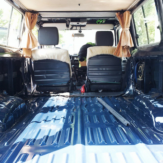 Troopy Custom Expedition Fitout